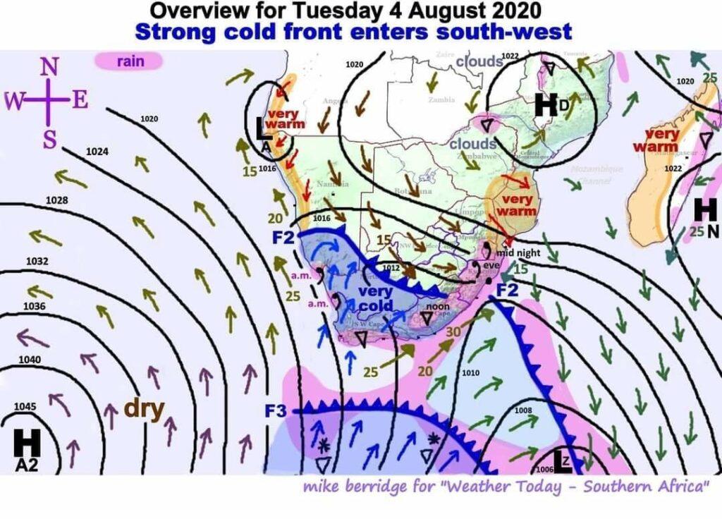 Mike BVerridge weather forecast